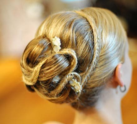 Braided Hairstyle for wedding