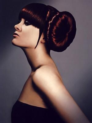 Elegant Side Bun Hairstyle 2014