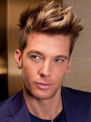 tousled men hairstyles