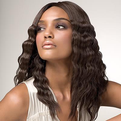 wavy bridal hairstyle 2012