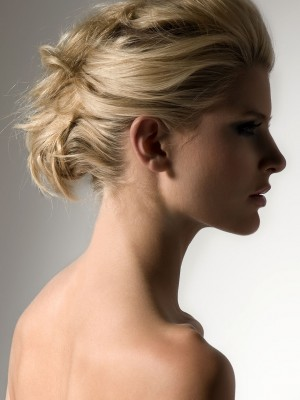 2014 messy up-do hairstyle