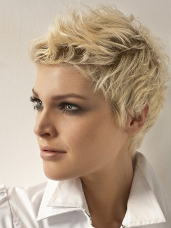 short pixie hairstyle 2012
