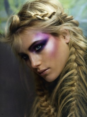 fantasy braided hairstyle