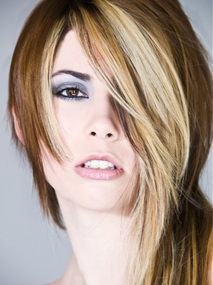 long asymmetric hairstyle