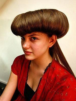 crazy voluminous hairstyle