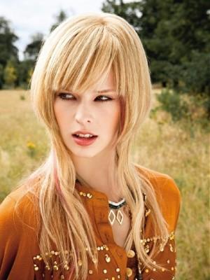 bold layered hairstyle