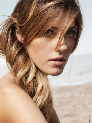 twisted long hairstyle