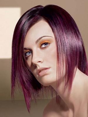 midi asymmetric hairstyle
