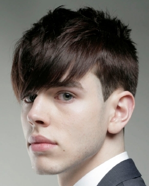 Men's Hairstyles for Foreheads
