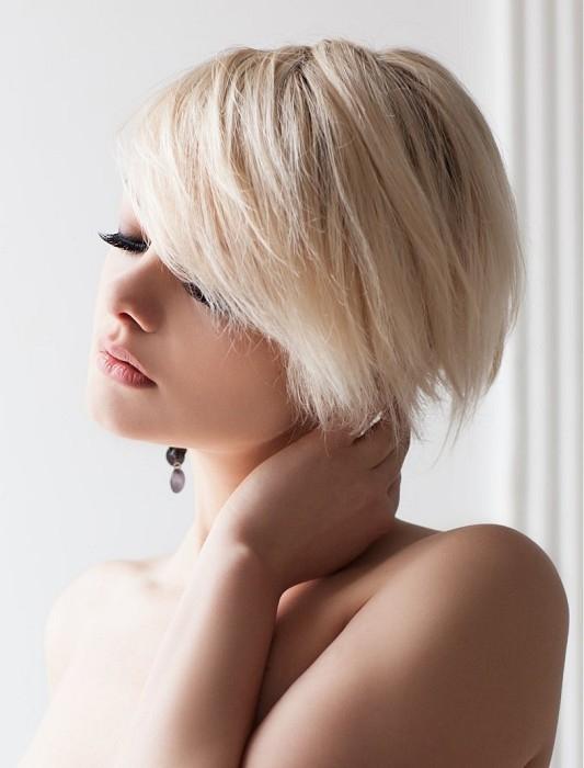 choppy layered medium hairstyle