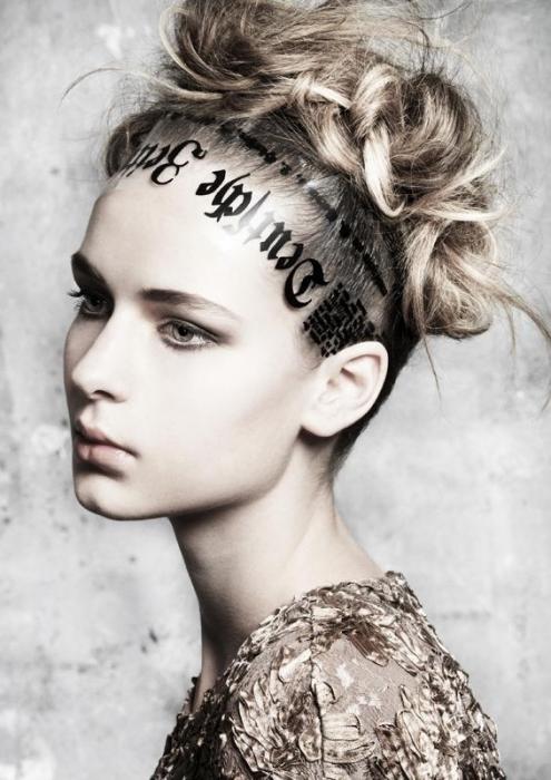 messy bun hairstyle