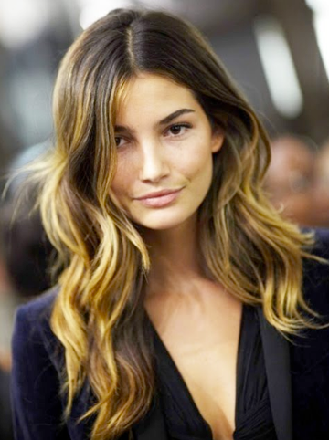 stylish ombre hair