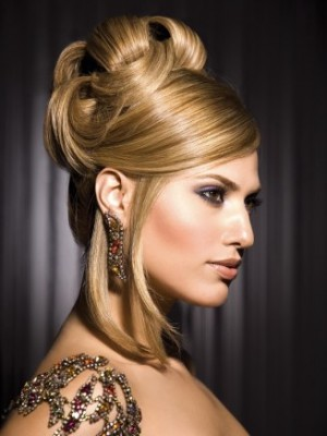 Sophisticated updos 2014