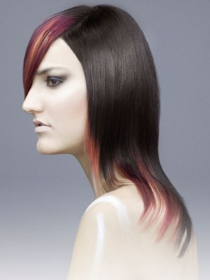 multy tone hair colors for 2014