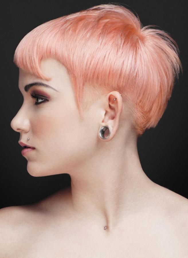pink hair color idea 2012
