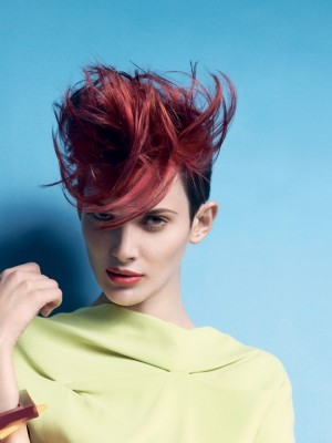 spring hair highlights for red hair