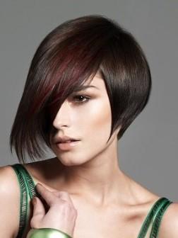 Asymmetrical Bob Haircut