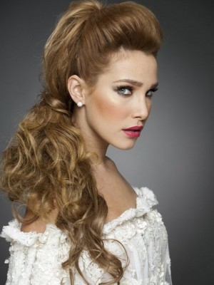 cute bridal hairstyle
