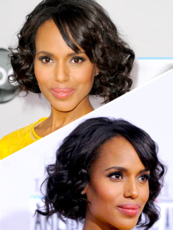 celebrity faux bob hairstyle