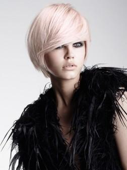 pale pastel pink hair