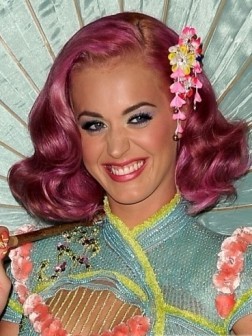 katy perry pink hairstyle