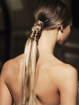 spring braided hairstyle