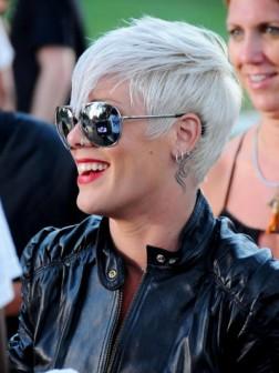 celebrity silver hair color