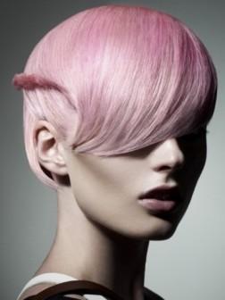 subtle pink color