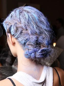 creative braided hairstyle