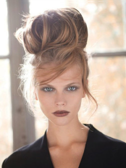 Hairstyles for Long Bangs