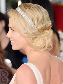 Charlize-Theron-Side-Chignon-Side-View
