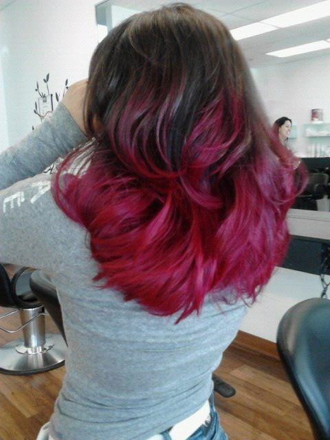 medium red ombre 2016