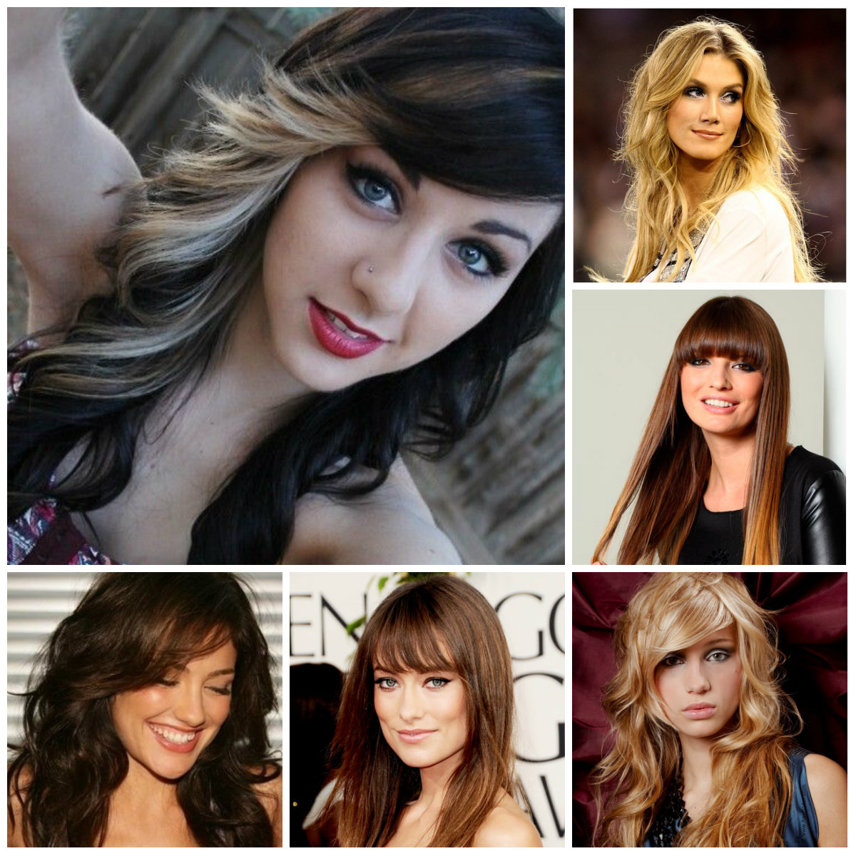 Long Hair Hairstyles With Bangs 2019 27