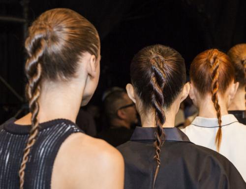 braided runway ponytail 2022