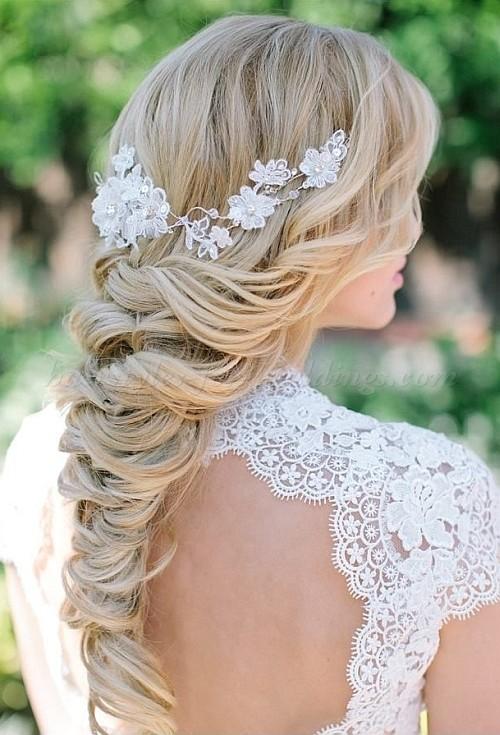braided wedding hairstyle idea 2022