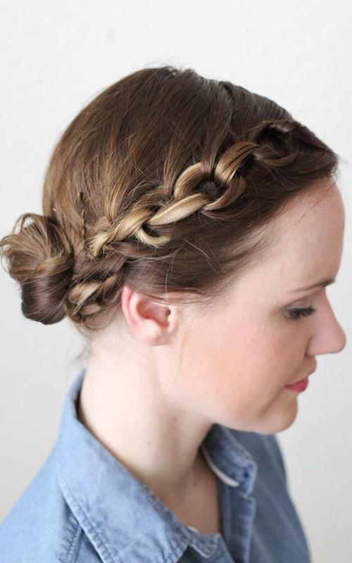 chain braid hairstyle 2022