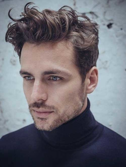 curly pompadour hairstyle 2016
