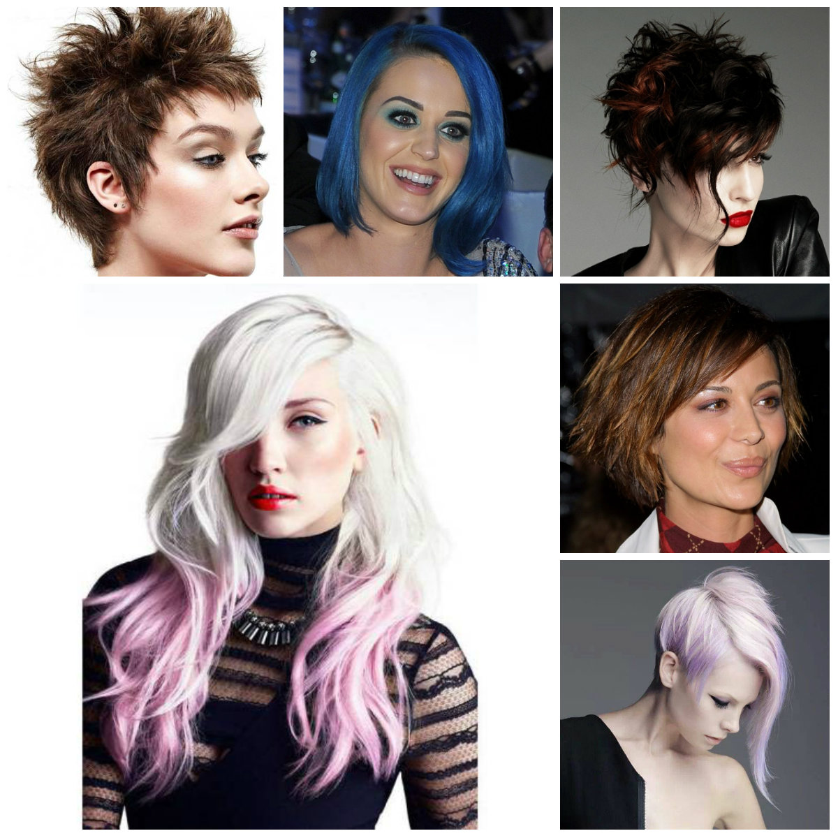 edgy hairstyles for 2016