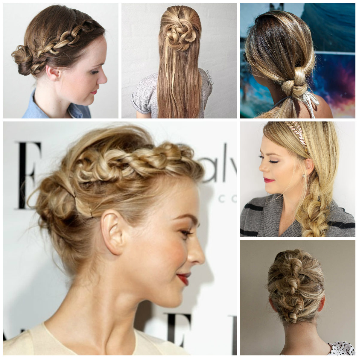 knotted hairstyles 2022
