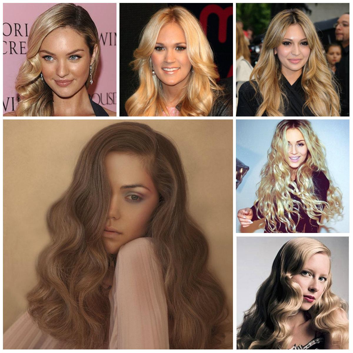 long wavy hairstyles 2016