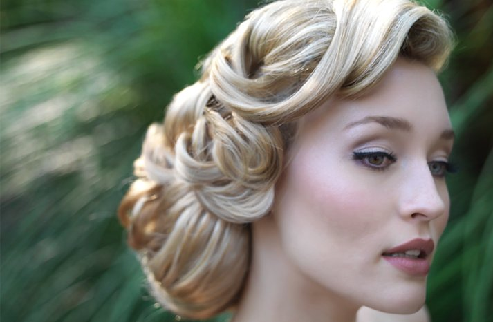 loose party updo for long hair 2022