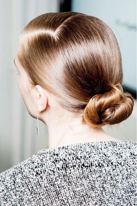 low bun hairstyle 2016