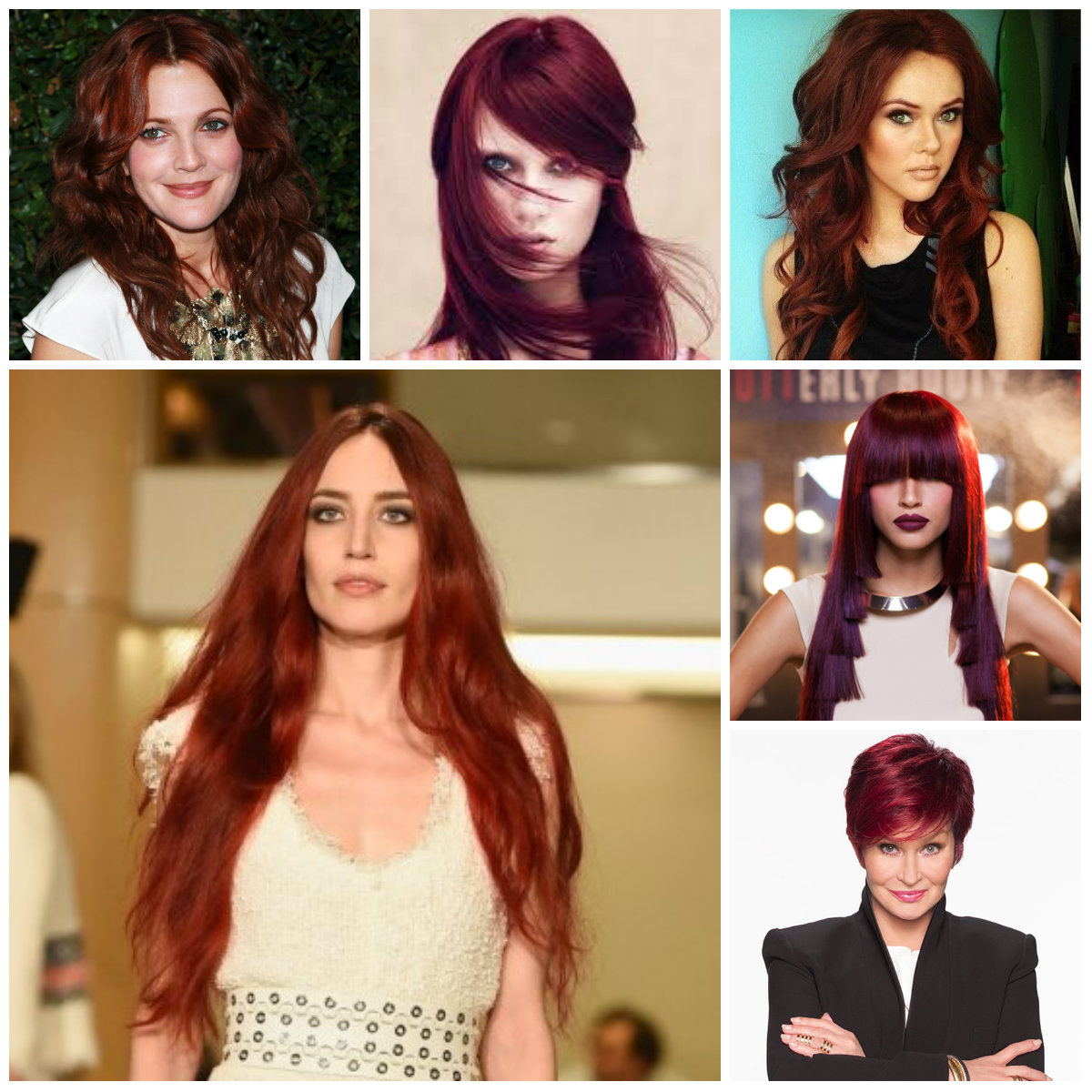marsala hair color for 2016 | 2017 haircuts, hairstyles and hair