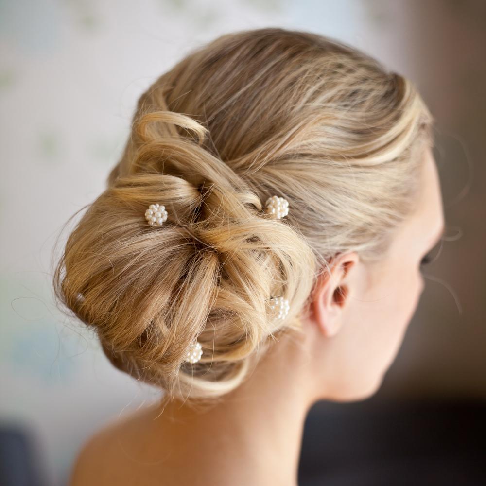 prom bun hairstyle 2016