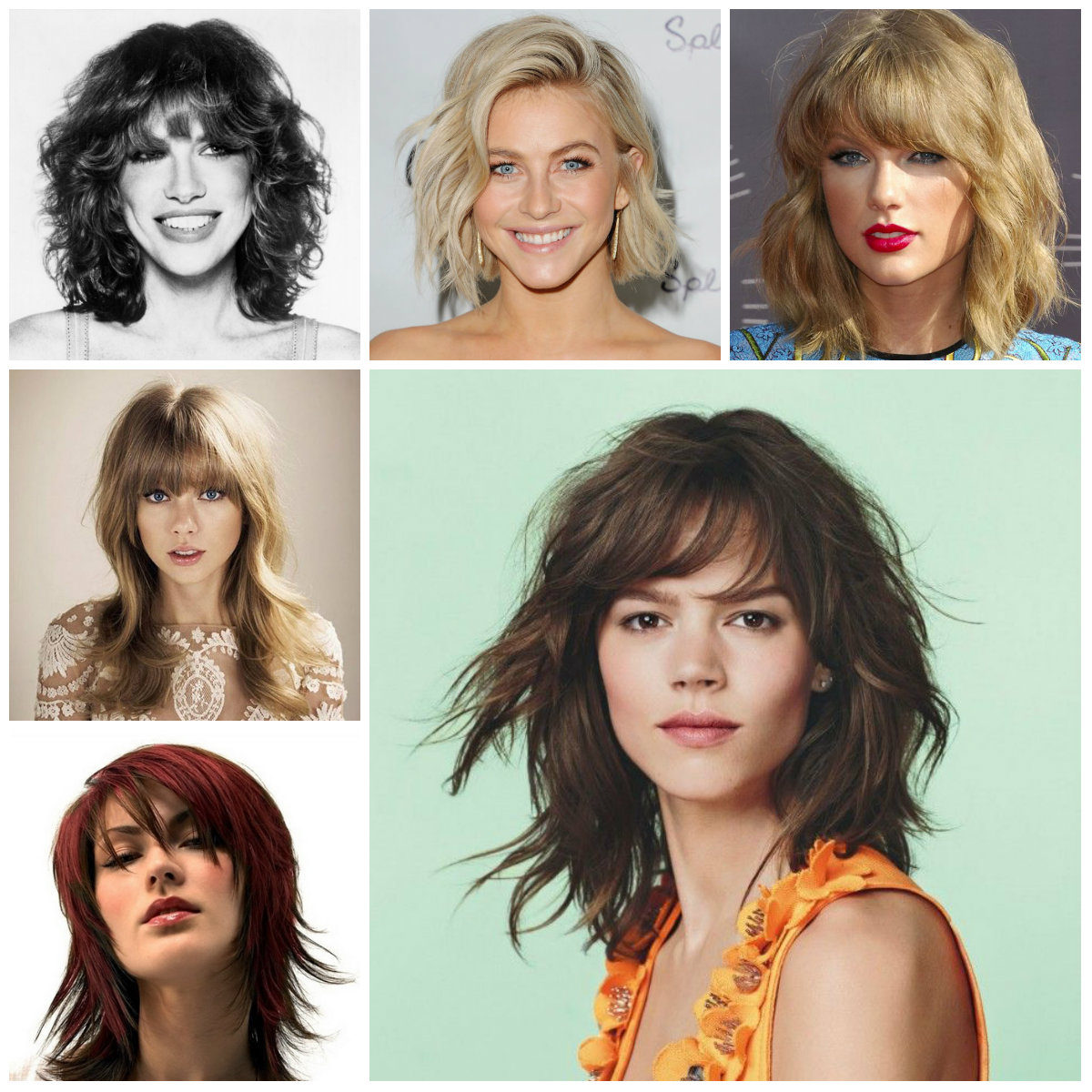 trendy shag hairstyles 2016 | 2019 haircuts, hairstyles and hair colors