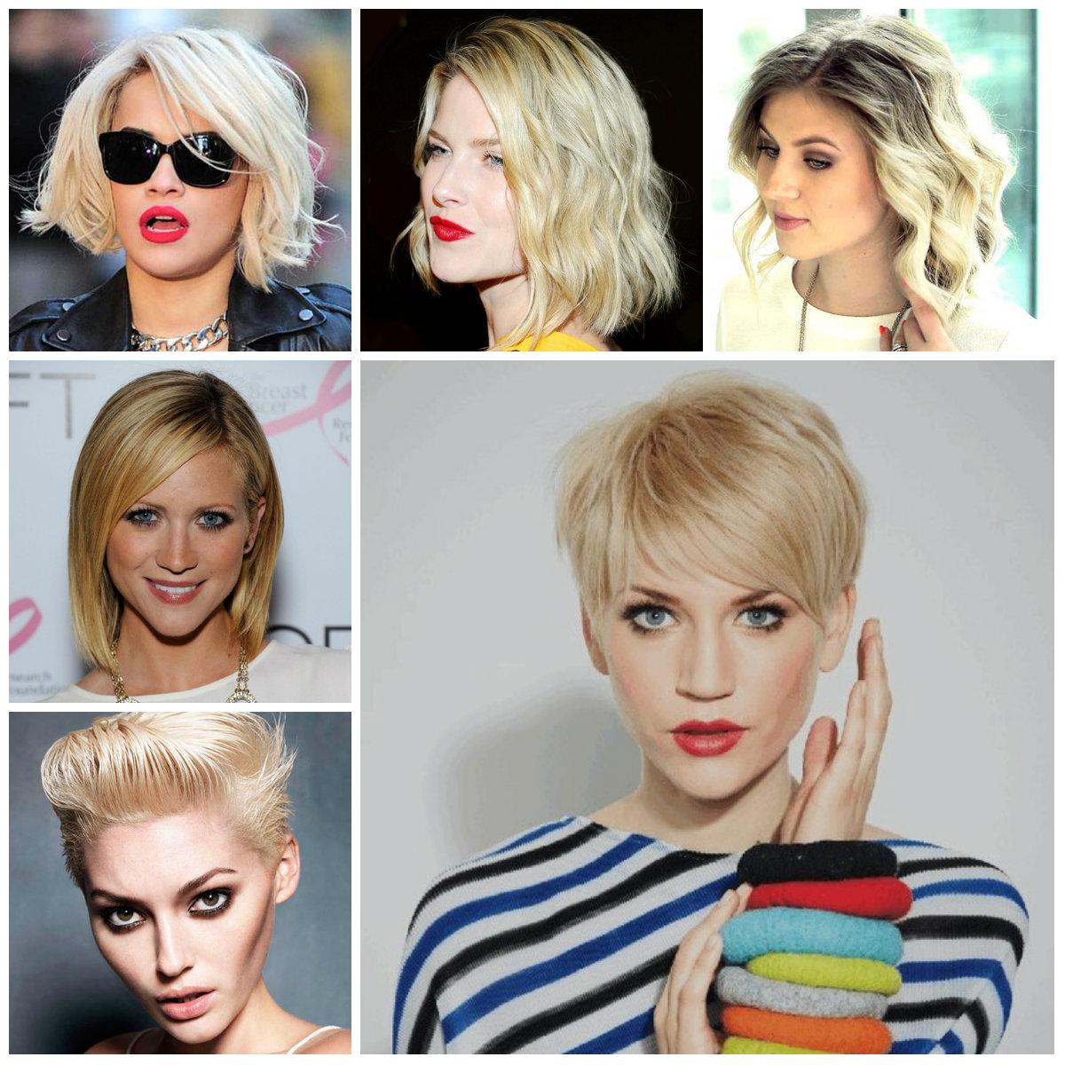 short blonde hairstyles 2022