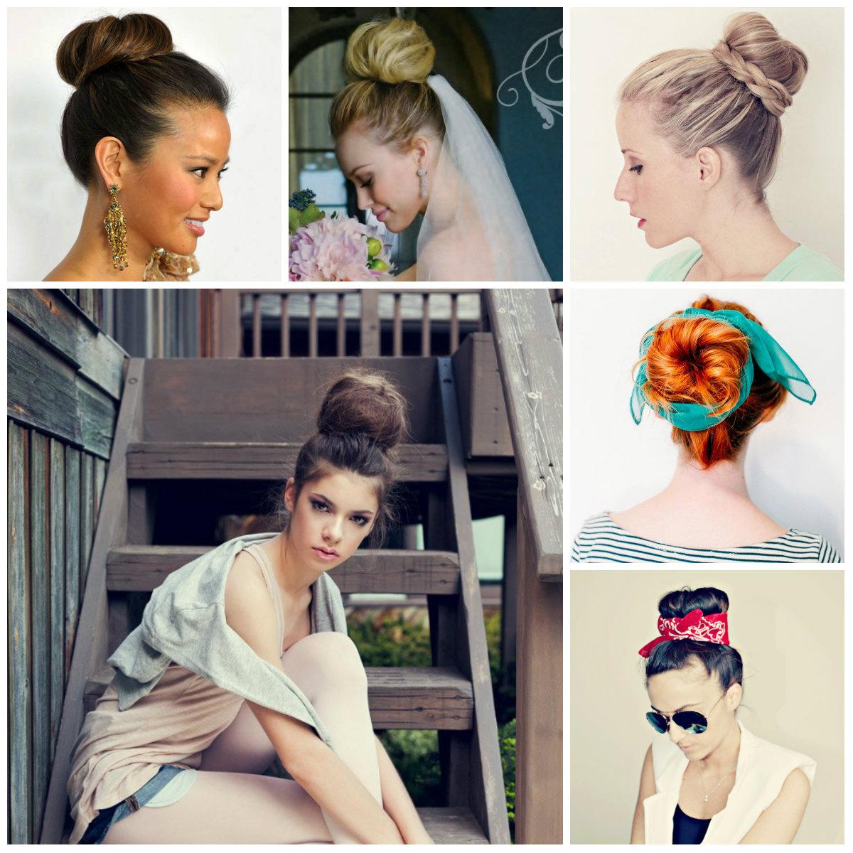 ballerina bun hairstyles 2016