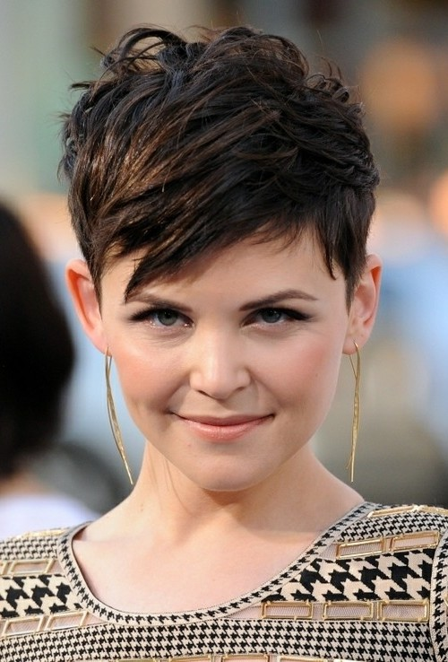 high volume pixie haircut for round face 2022