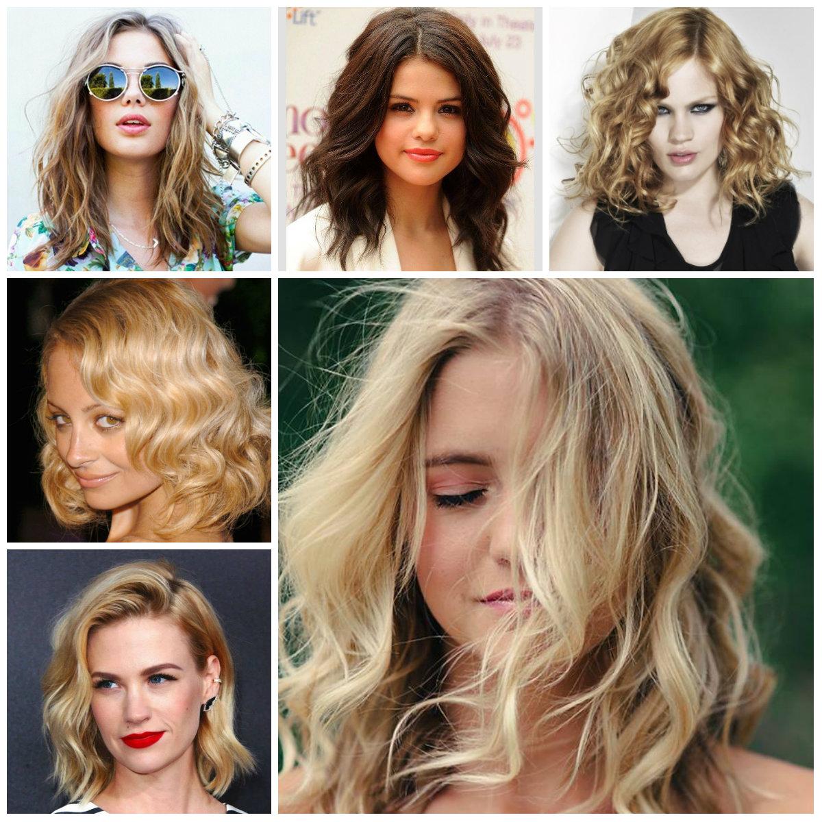 medium wavy hairstyles 2022