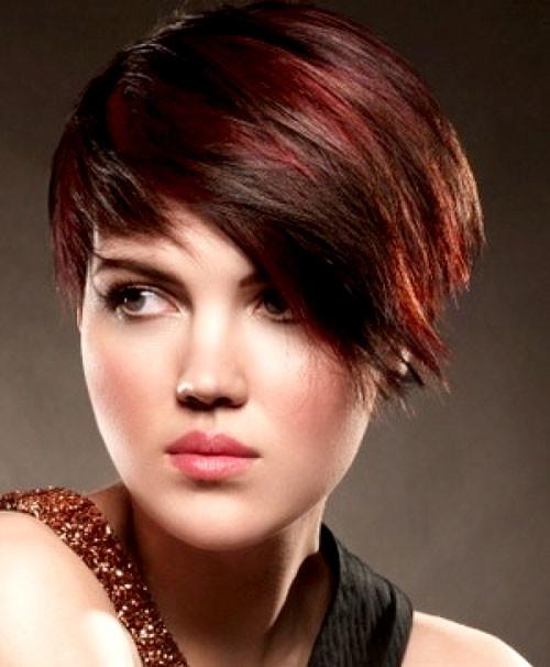red highlights on dark brown hair 2022